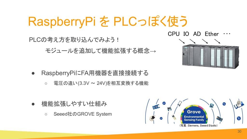 RaspberryPi を PLCっぽく使う PLCの考え方を取り込んでみよう!     モジ...