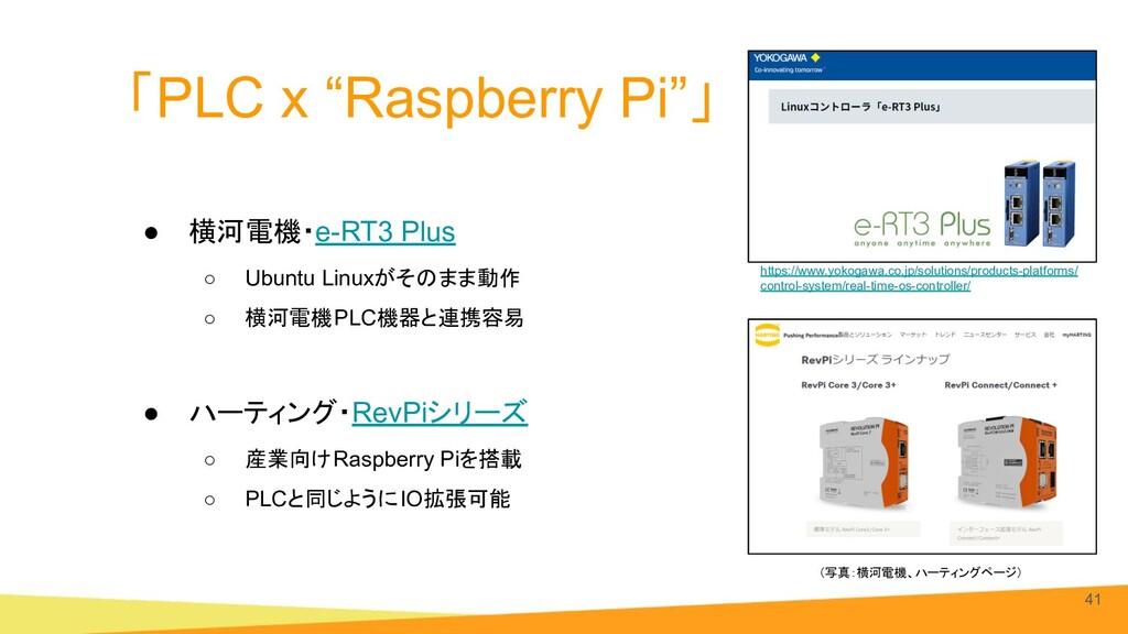 "「PLC x ""Raspberry Pi""」 ● 横河電機・e-RT3 Plus ○ Ubun..."