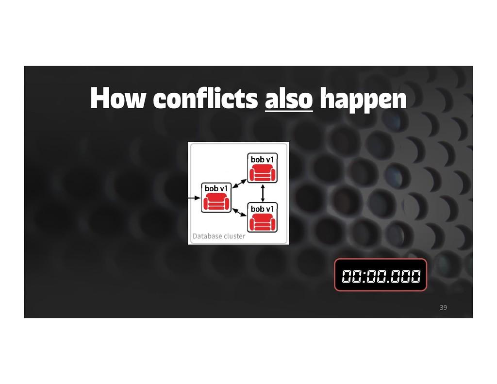How conflicts also happen 39 bob v1 bob v1 bob ...
