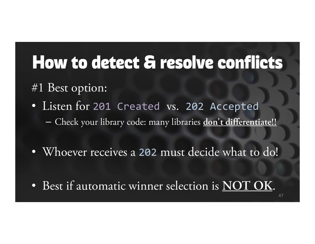 How to detect & resolve conflicts #1 Best optio...