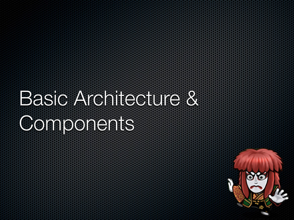 Basic Architecture & Components