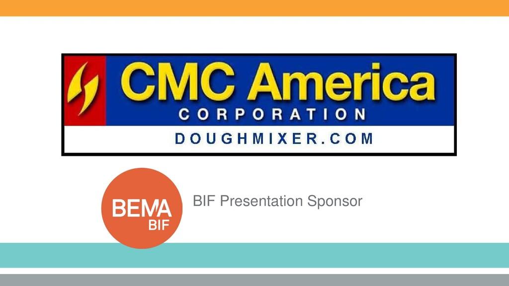 BIF Presentation Sponsor