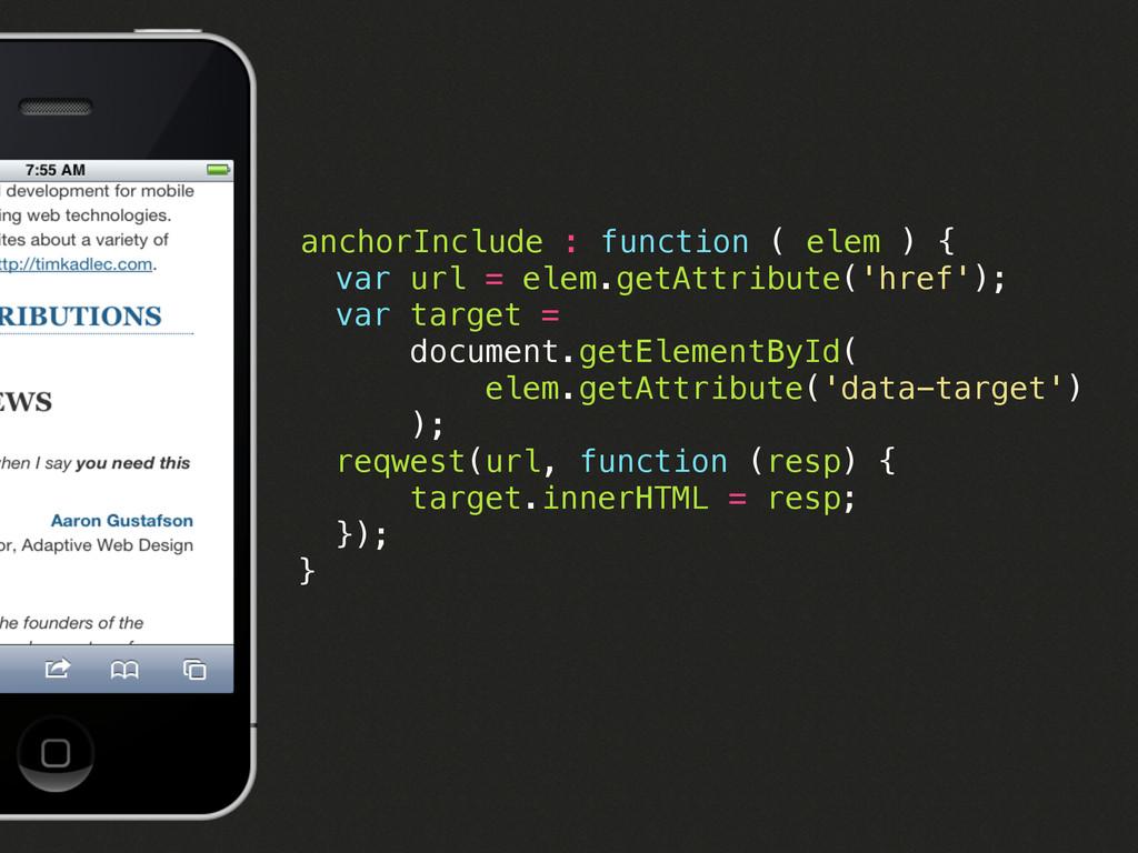 anchorInclude : function ( elem ) { var url = e...