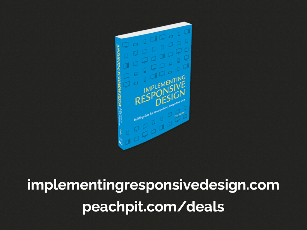 implementingresponsivedesign.com peachpit.com/d...