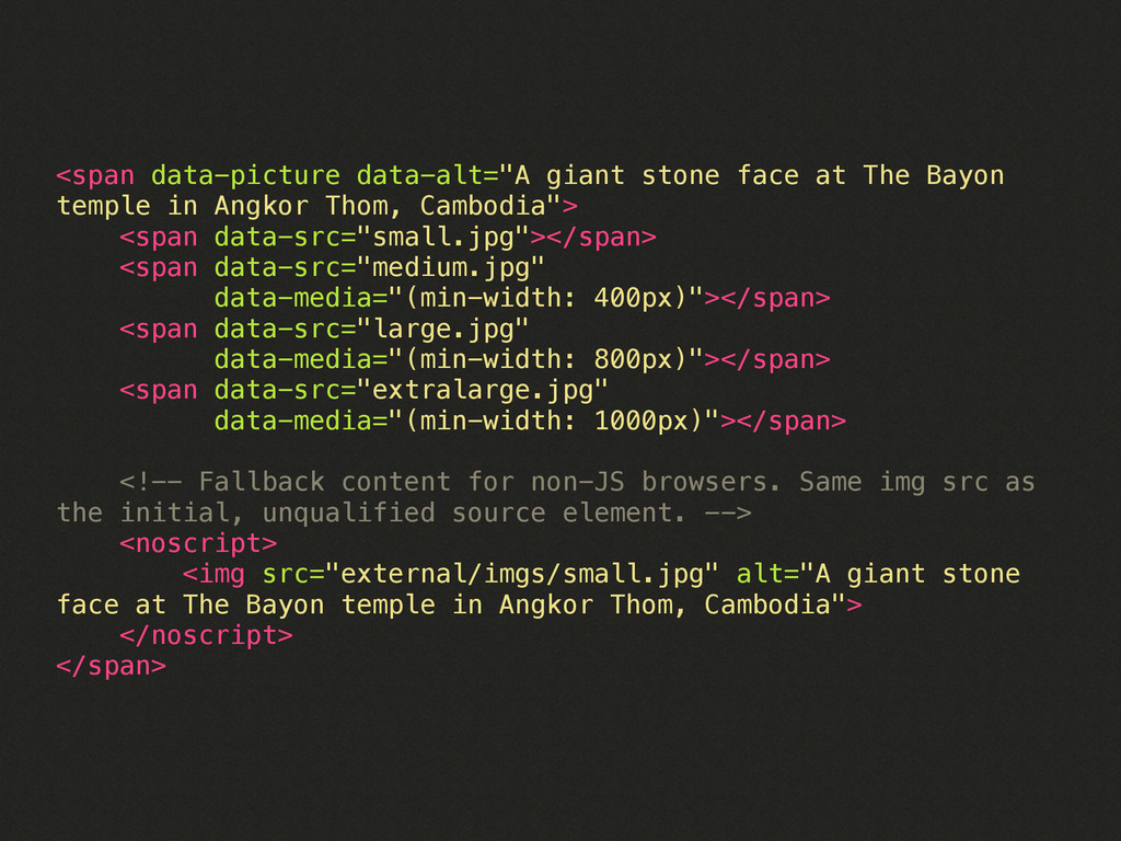 """<span data-picture data-alt=""""A giant stone face..."""