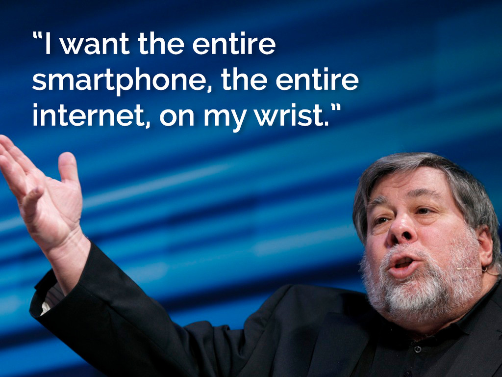 """I want the entire smartphone, the entire inter..."