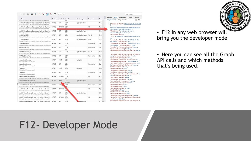 F12- Developer Mode • F12 in any web browser wi...