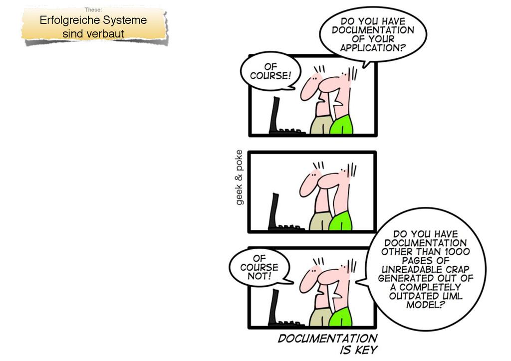 These: Erfolgreiche Systeme sind verbaut
