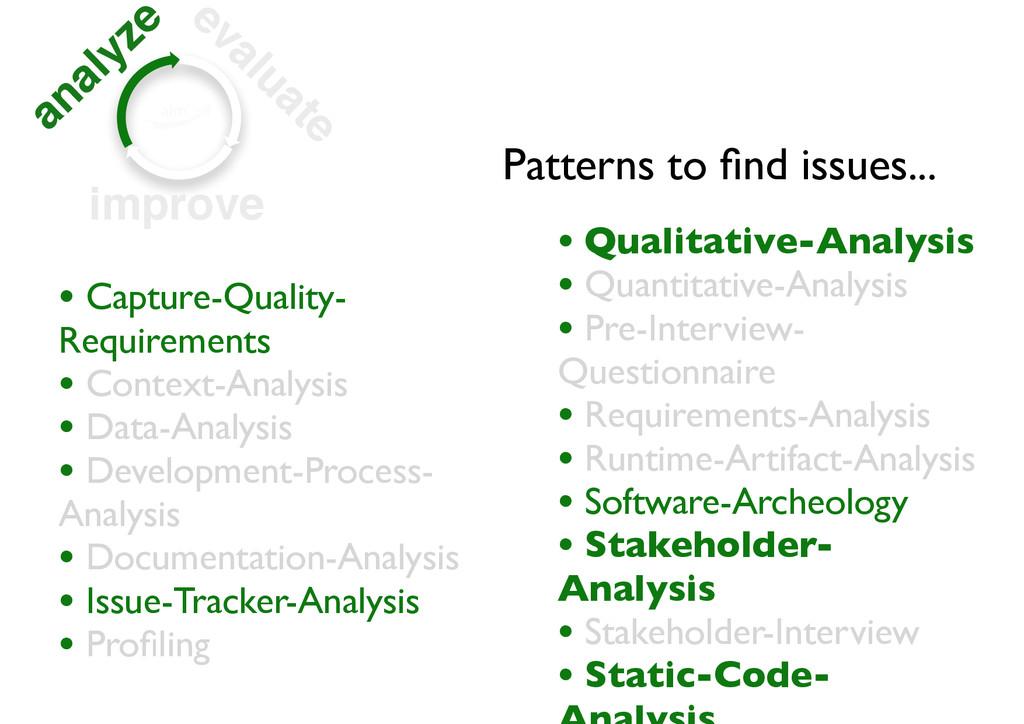 analyze evaluate improve • Capture-Quality- Req...