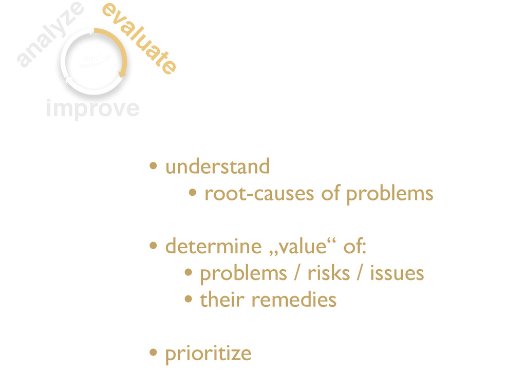 • understand • root-causes of problems • determ...