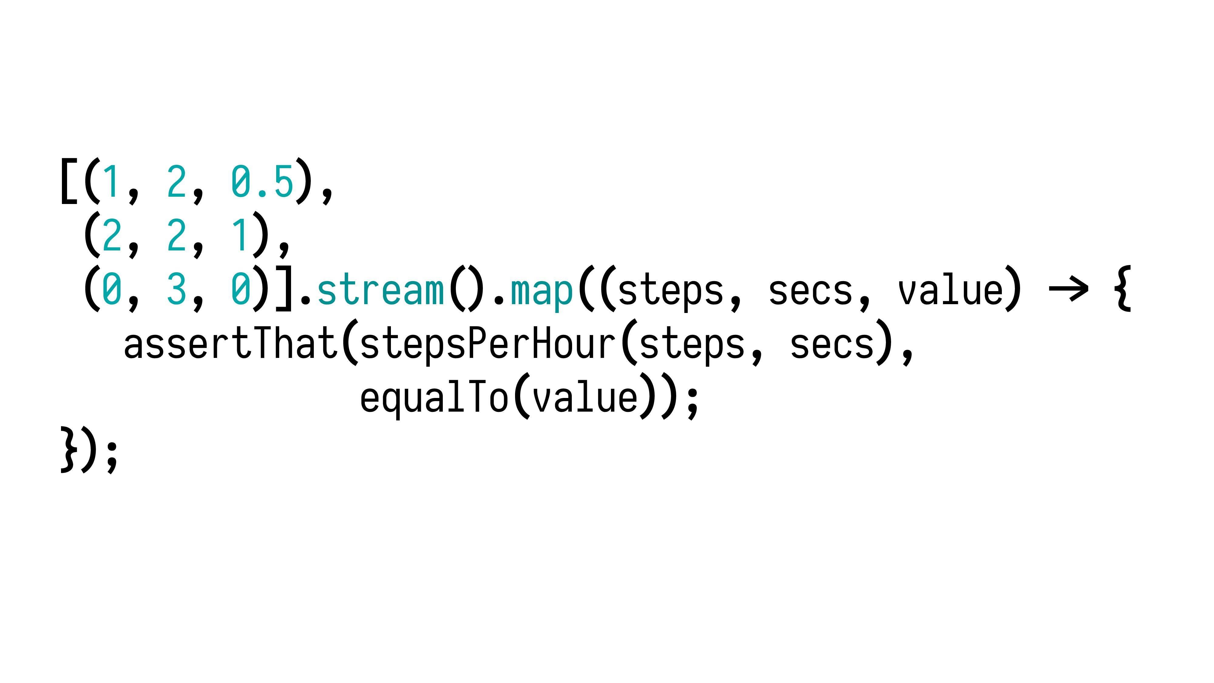 [(1, 2, 0.5), (2, 2, 1), (0, 3, 0)].stream().ma...