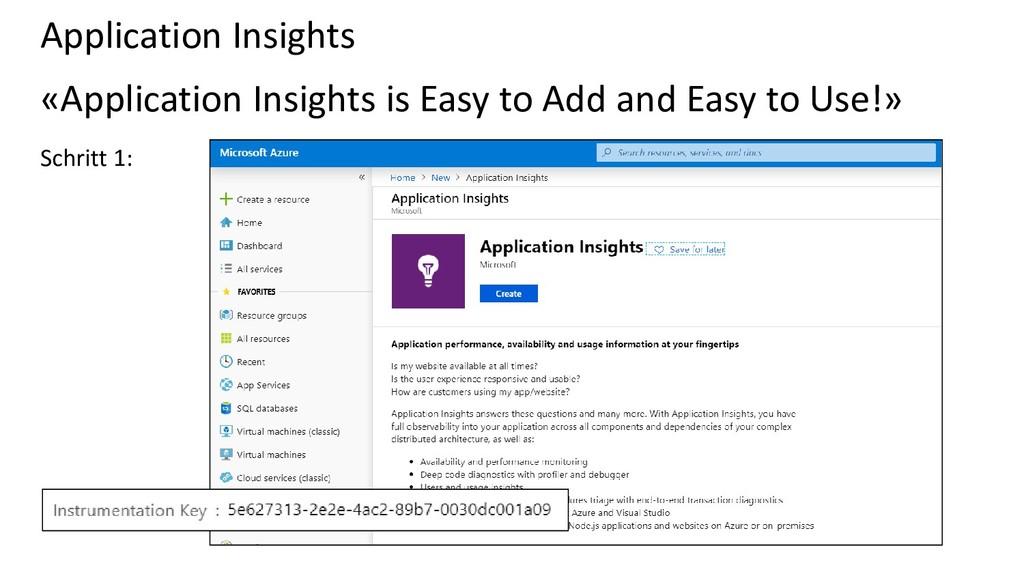 Application Insights «Application Insights is E...