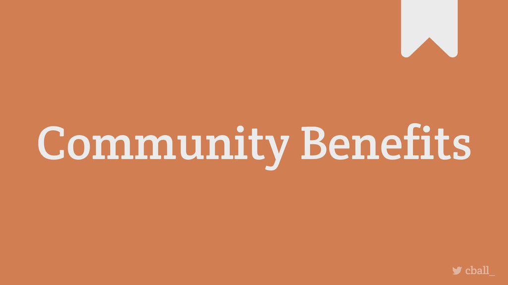 Community Benefits cball_