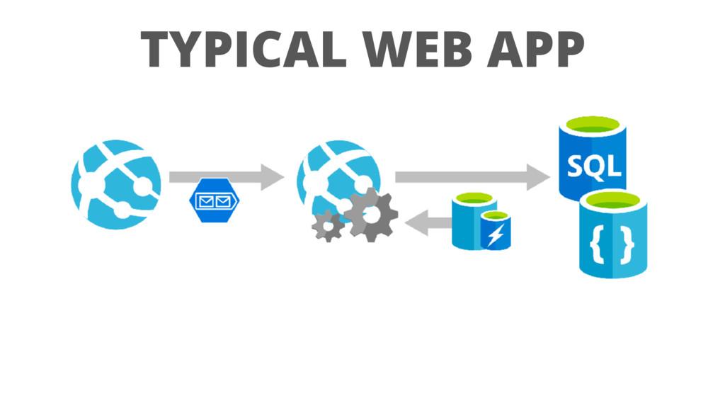 TYPICAL WEB APP