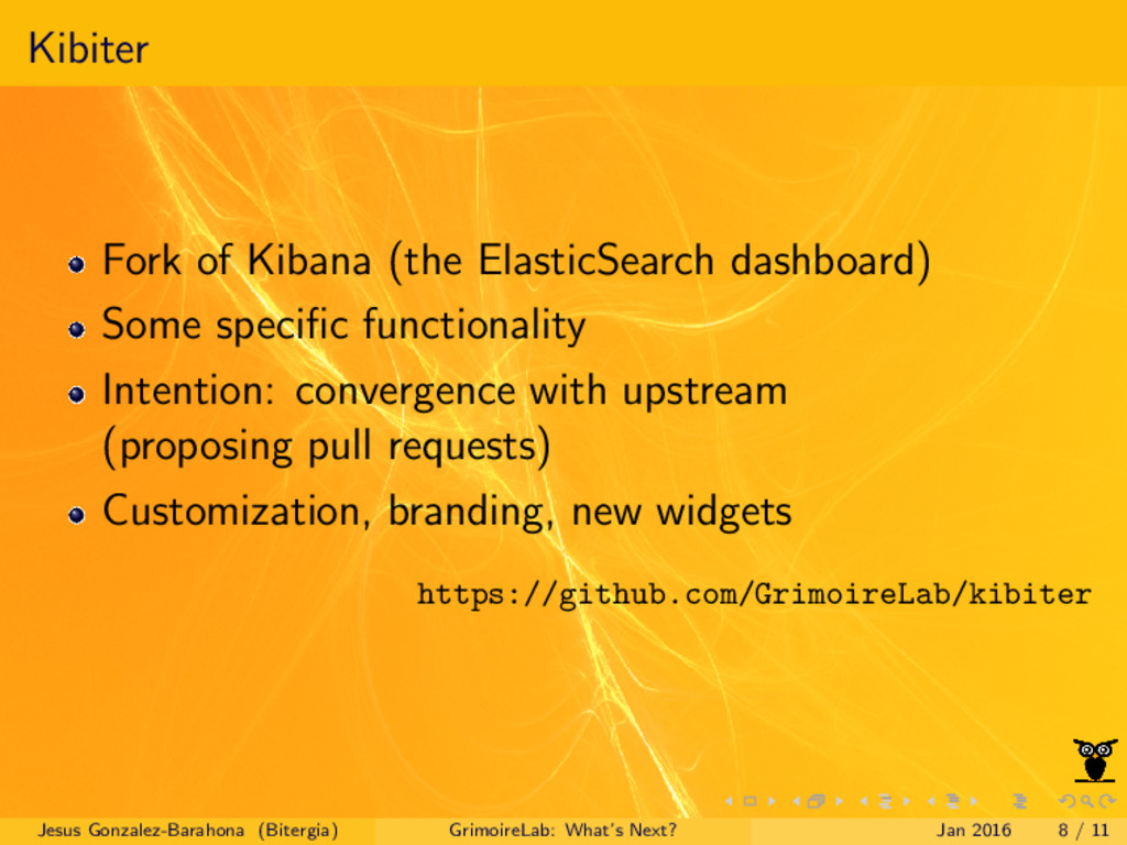 Kibiter Fork of Kibana (the ElasticSearch dashb...