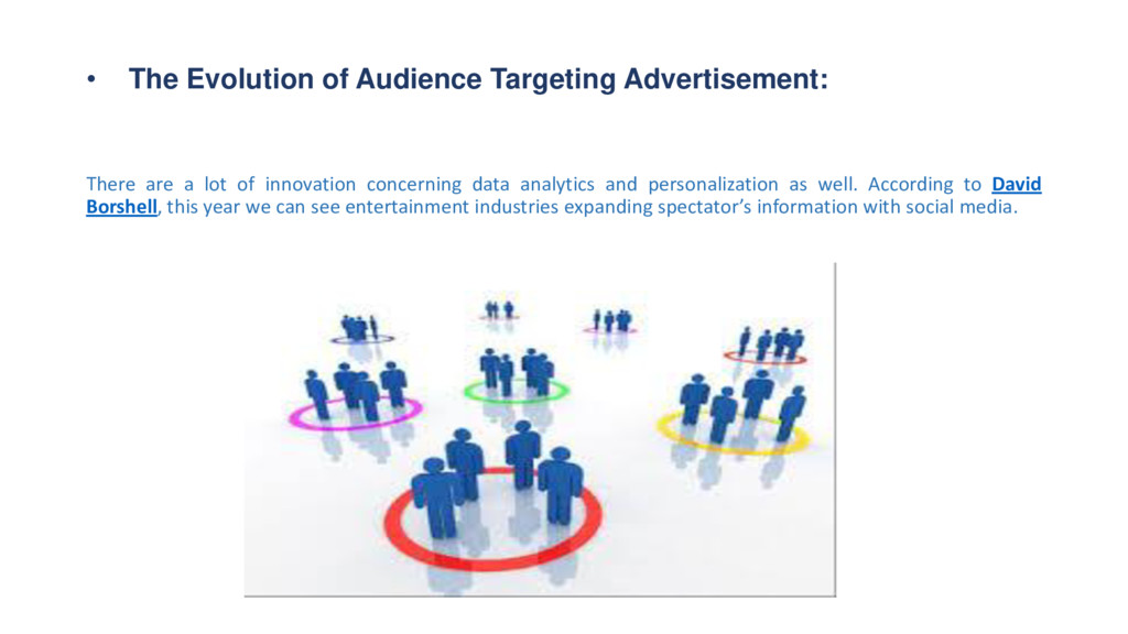 • The Evolution of Audience Targeting Advertise...