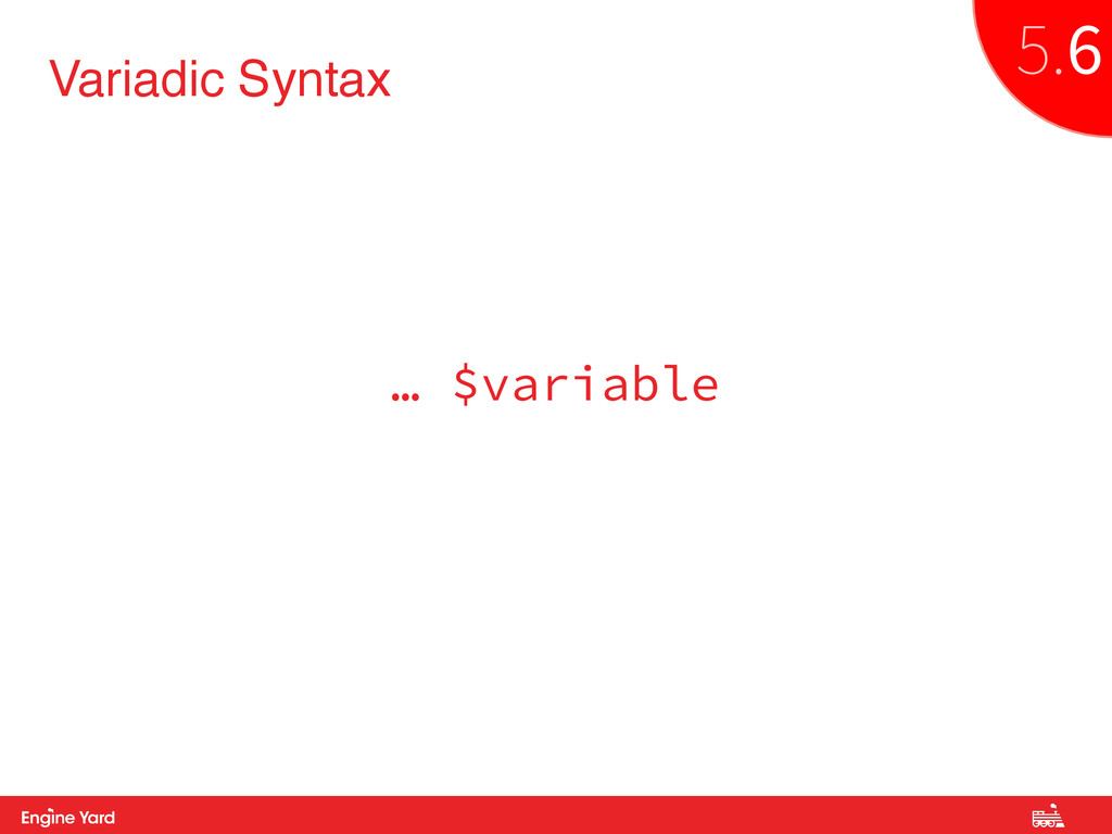 Proprietary and Confidential Variadic Syntax … ...