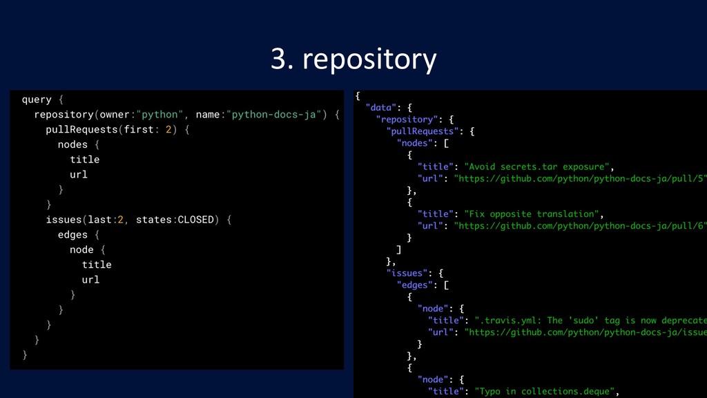 3. repository
