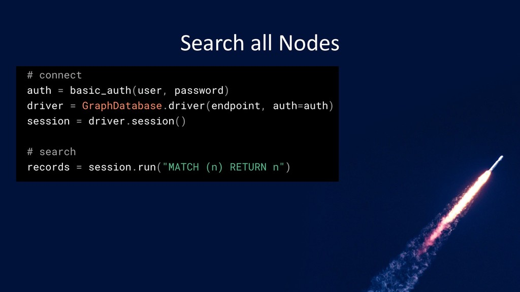 Search all Nodes