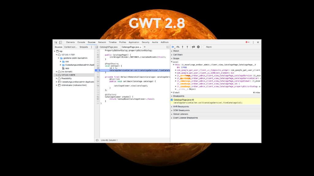 GWT 2.8