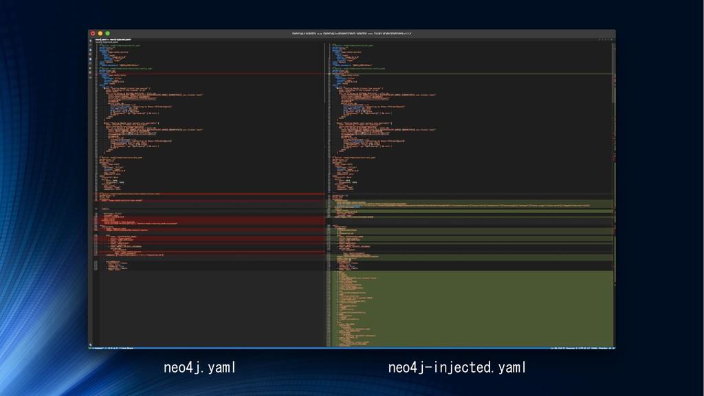 neo4j.yaml neo4j-injected.yaml