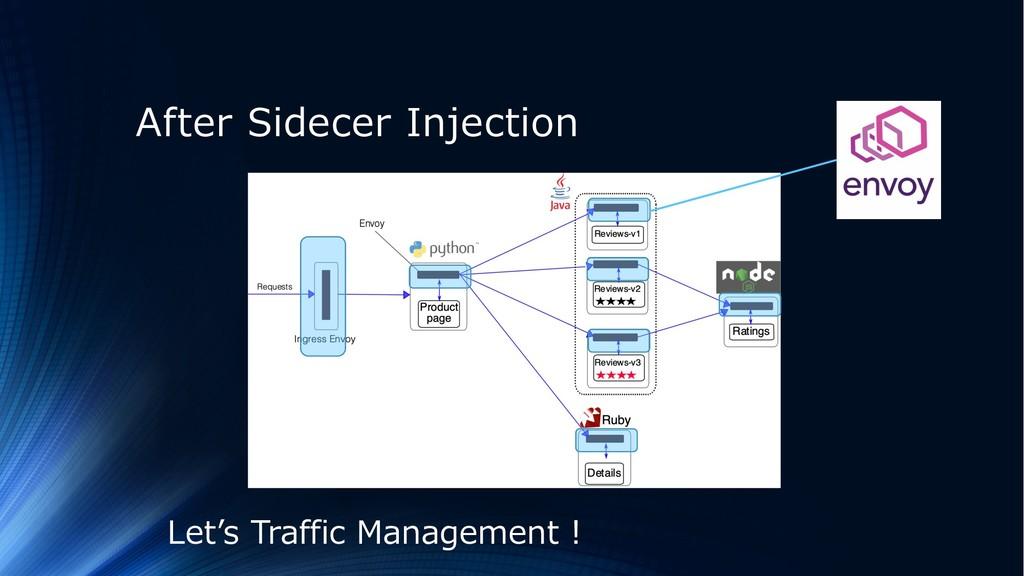 After Sidecer Injection Let's Traffic Managemen...
