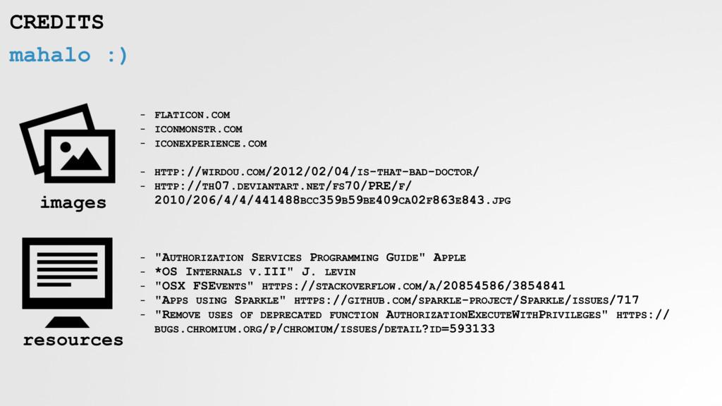 mahalo :) CREDITS - FLATICON.COM - ICONMONSTR.C...