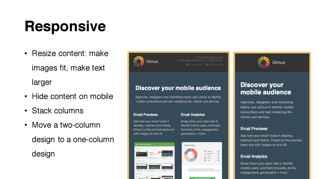 Responsive • Resize content: make images fit, m...