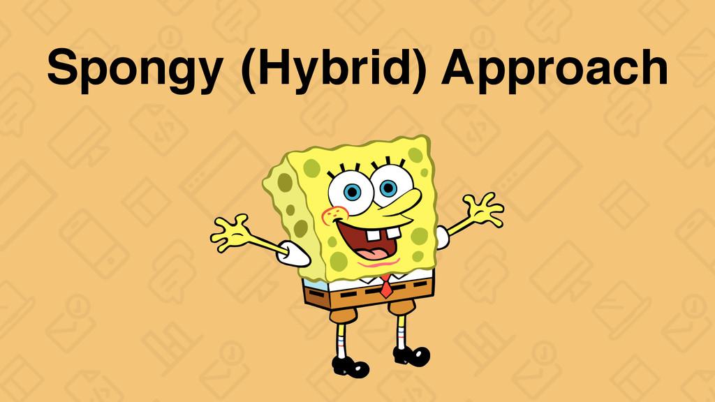 Spongy (Hybrid) Approach