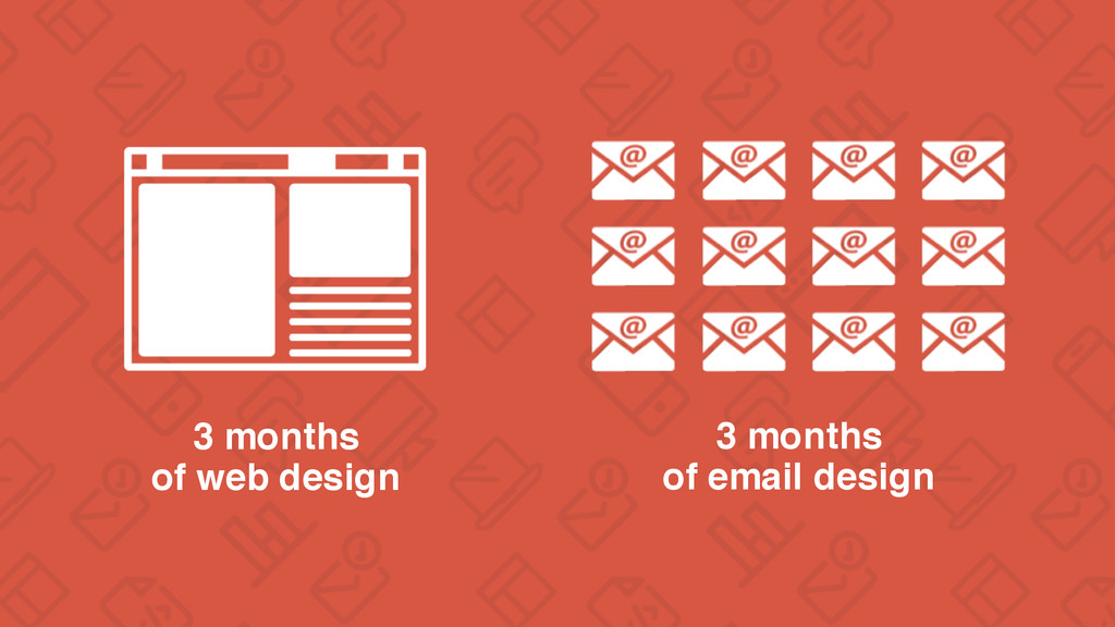3 months of web design 3 months of email design