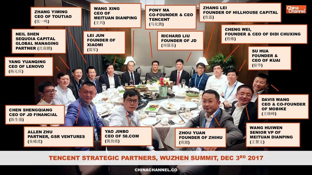 WANG XING CEO OF MEITUAN DIANPING (王兴) RICHARD ...