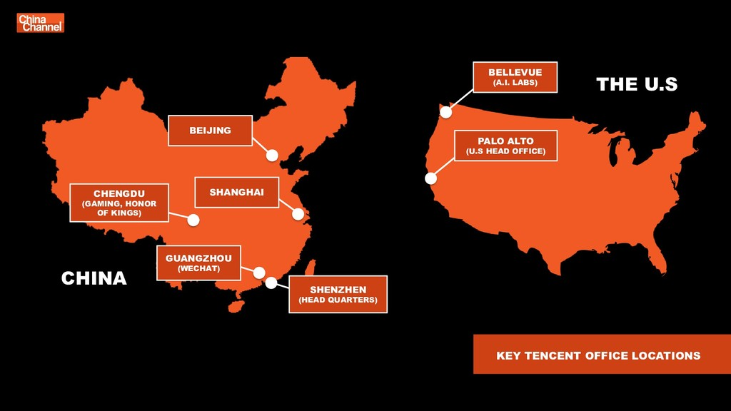 CHINA KEY TENCENT OFFICE LOCATIONS BEIJING CHEN...