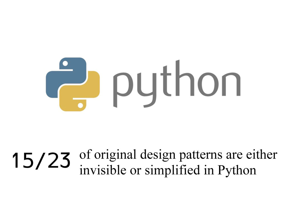 of original design patterns are either invisibl...