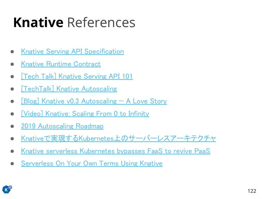 ● Knative Serving API Specification ● Knative ...