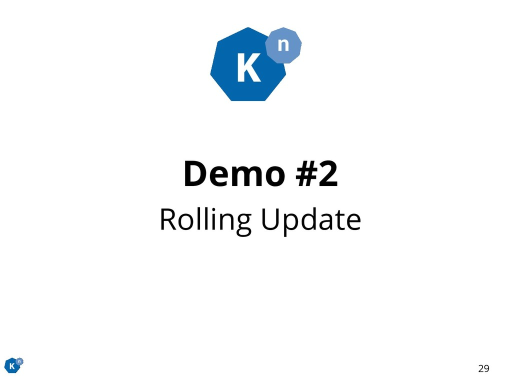Demo #2 Rolling Update 29