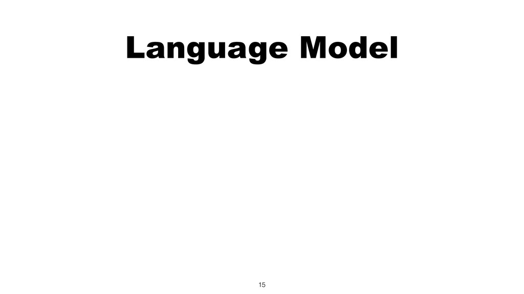 Language Model 15