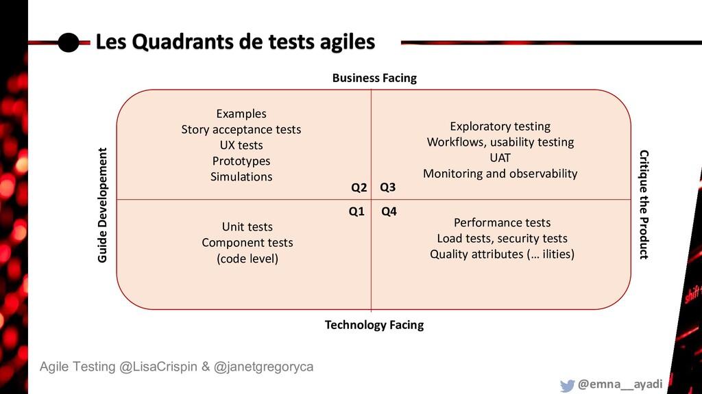 @emna__ayadi Agile Testing @LisaCrispin & @jane...
