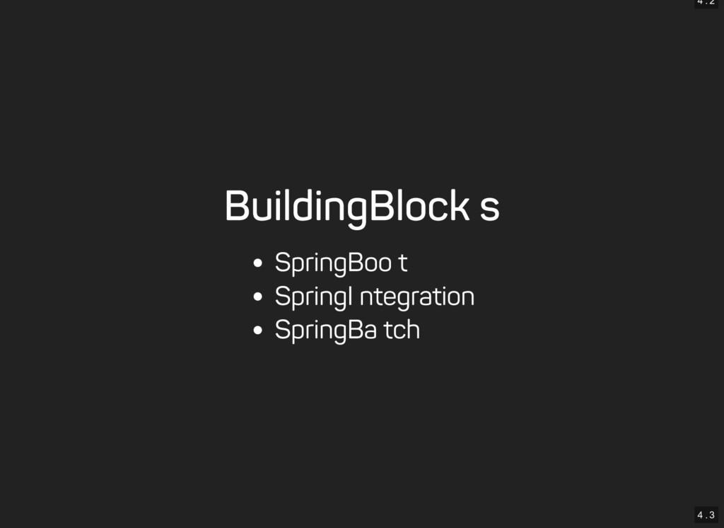4 . 2 4 . 3 Building Blocks Spring Boot Spring ...