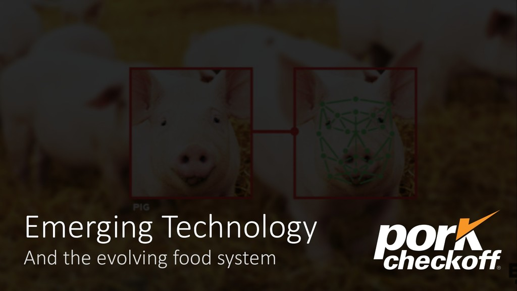 Emerging Technology And the evolving food system