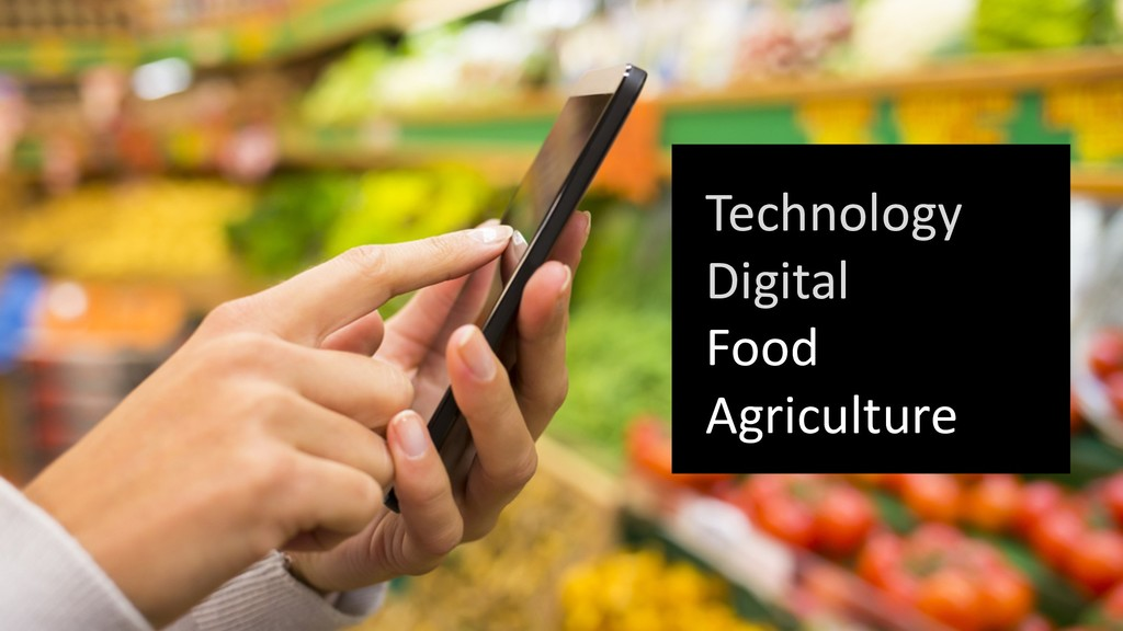 Technology Digital Food Agriculture
