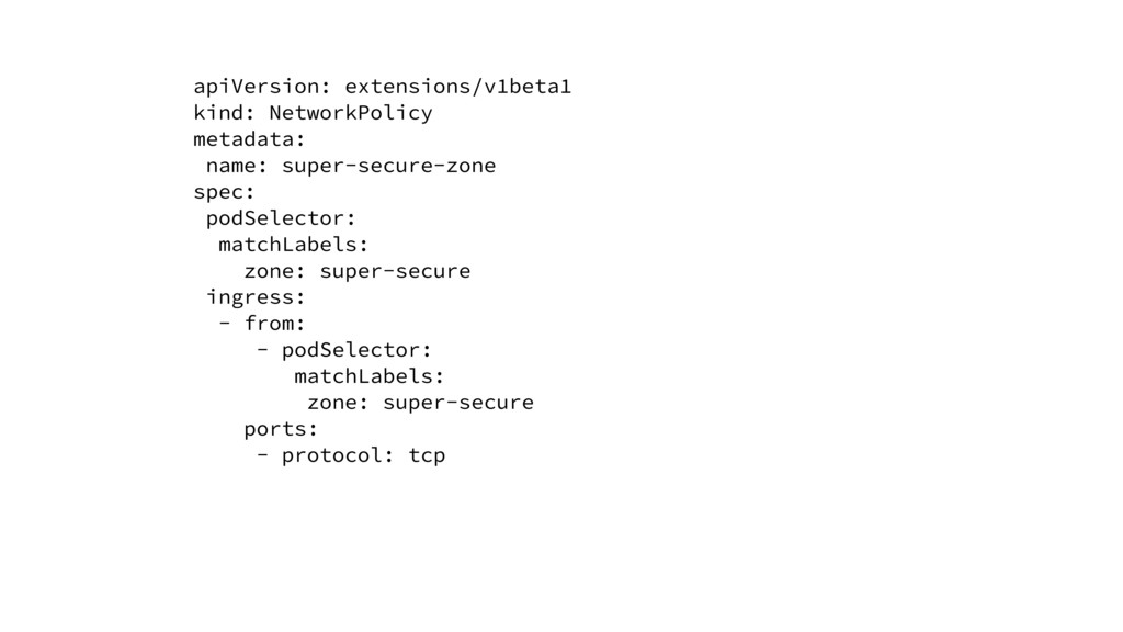 apiVersion: extensions/v1beta1 kind: NetworkPol...