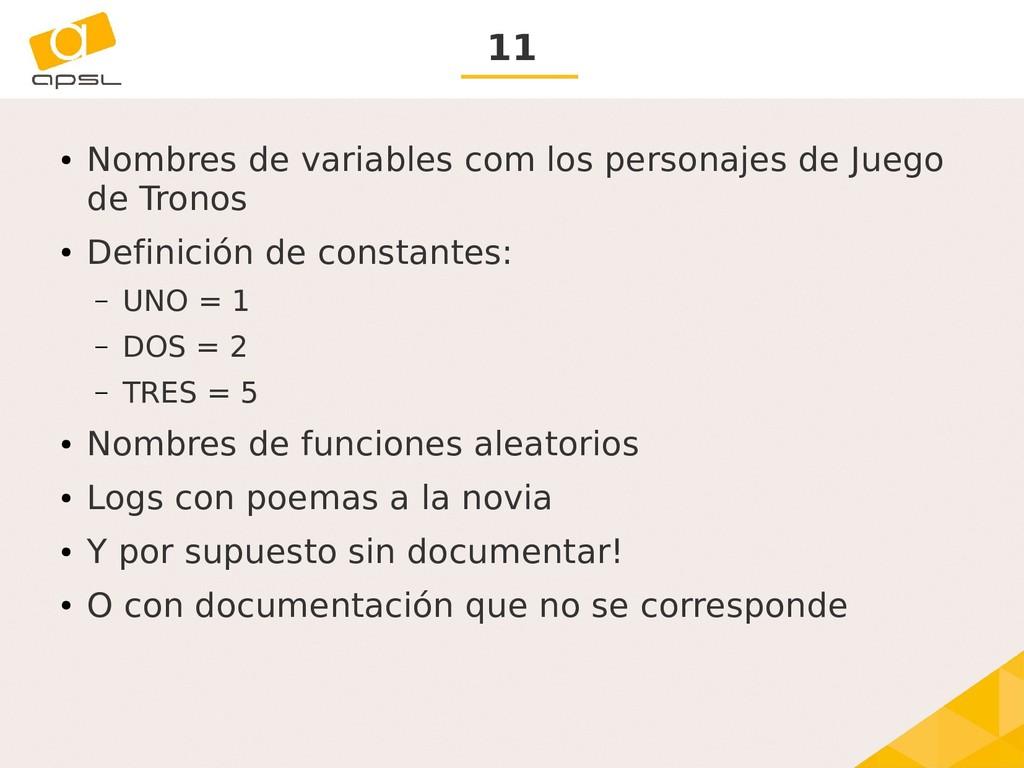 11 ● Nombres de variables com los personajes de...