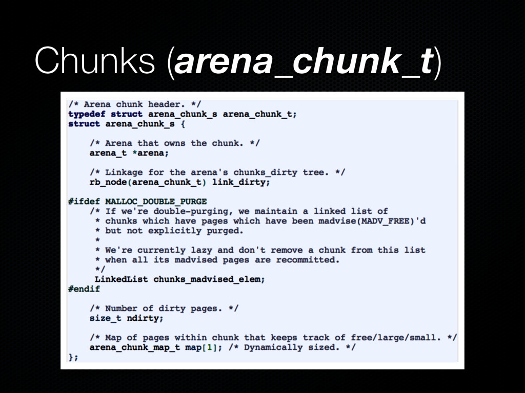 Chunks (arena_chunk_t)