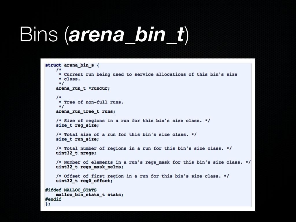Bins (arena_bin_t)