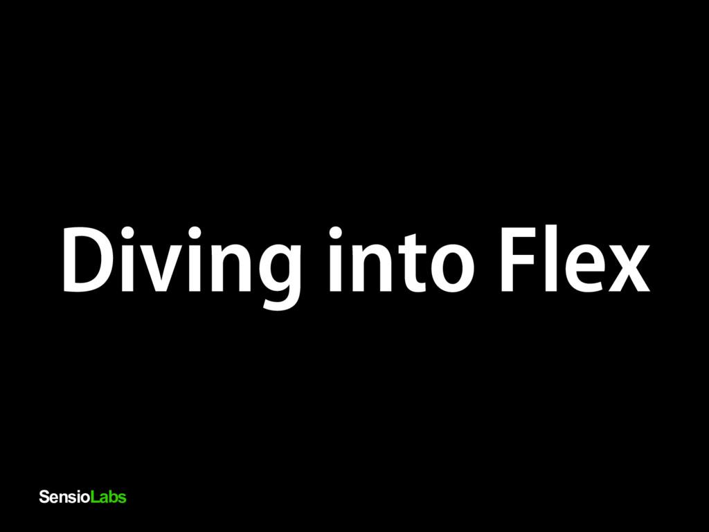 SensioLabs Diving into Flex