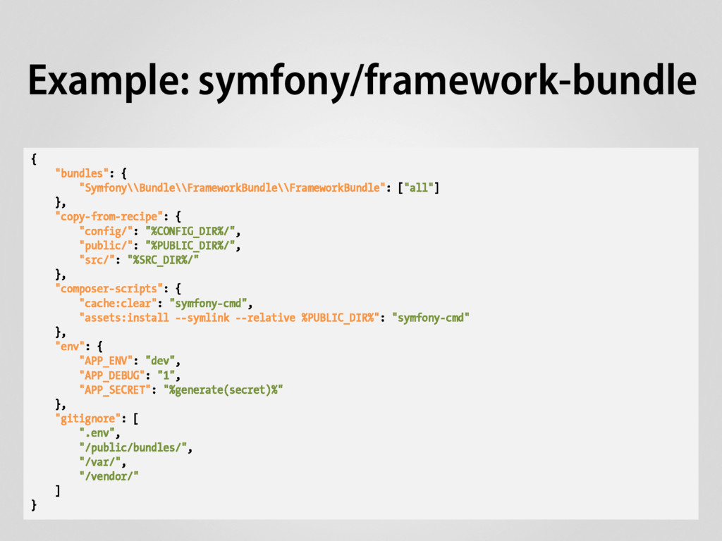 "{ ""bundles"": { ""Symfony\\Bundle\\FrameworkBundl..."