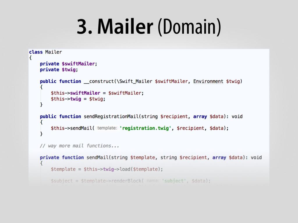 3. Mailer (Domain)