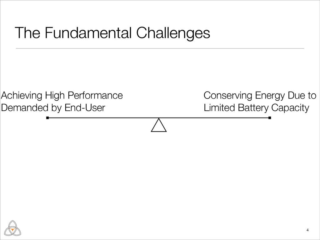 The Fundamental Challenges 4 Achieving High Per...
