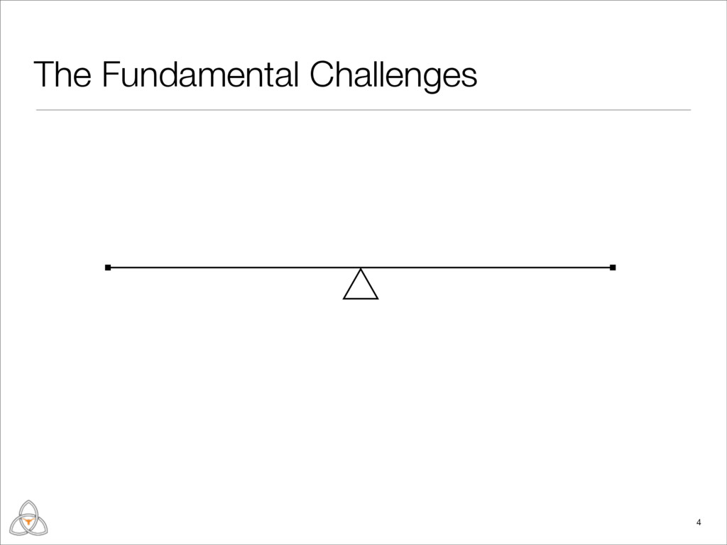 The Fundamental Challenges 4