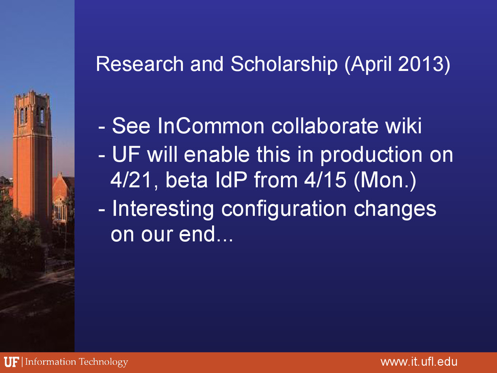 Research and Scholarship (April 2013) - See InC...